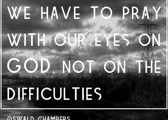 Oswald Chambers prayer